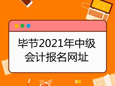 毕节2021年中级会计报名网址是什么