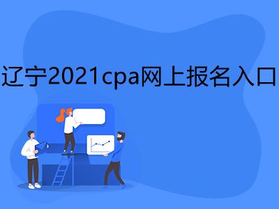 辽宁2021cpa网上报名入口是什么